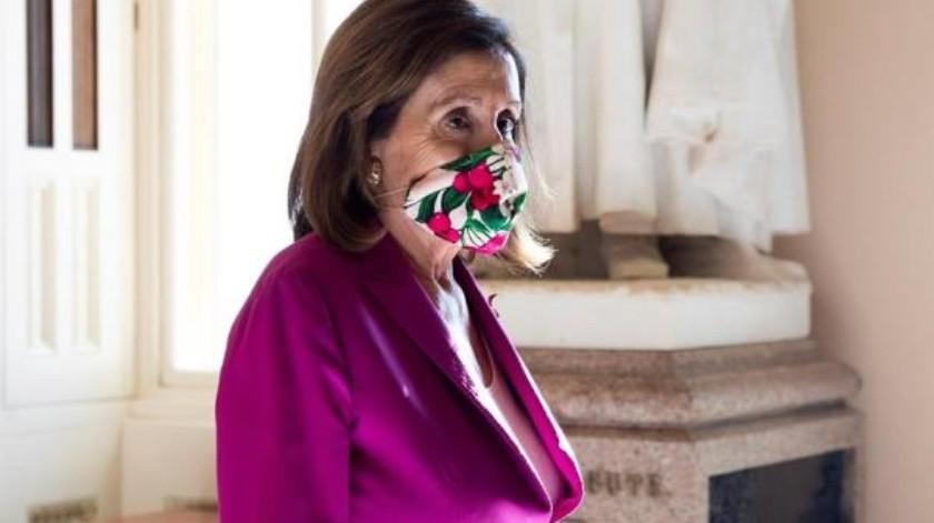 Demócratas aprueban rescate de 3 billones por Covid-19; también voto remoto para la Cámara Baja(EFE)