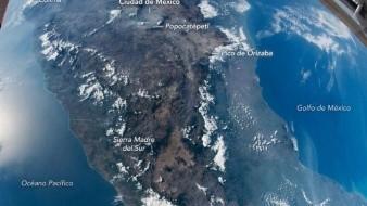 La NASA comparte una fotografía de México desde la Estación Espacial Internacional