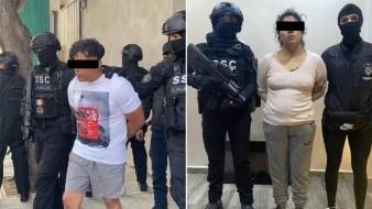 """Aseguran de nuevo a """"El Cindy"""" y """"La Negra"""", presuntos miembros del Cártel de Tláhuac"""
