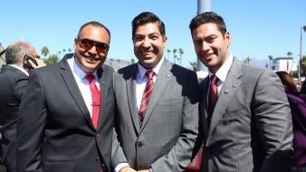 Ayala celebró el enlace matrimonial de funcionario