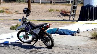 Hombre muere tras caer de espectacular