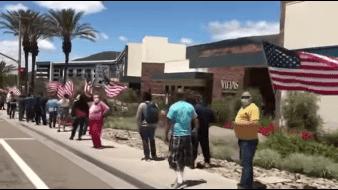 A pesar de pandemia, casinos en San Diego reabren con largas filas