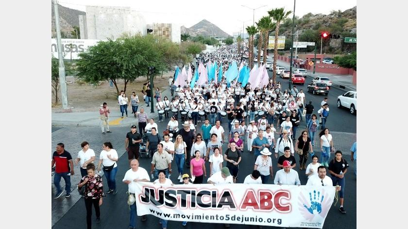 Movimiento Cinco de Junio cancela marcha de Guardería ABC ante Covid-19(Archivo GH)