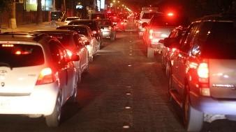 Inicia desviación de vehículos en Garita Centro