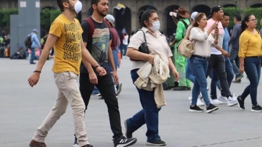 Registra México mayor número de contagios de Covid-19 por segundo día consecutivo(EFE)