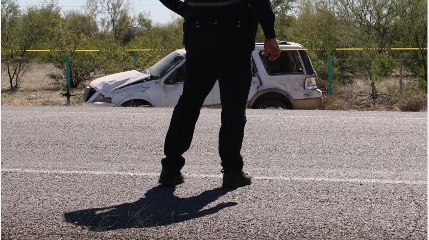 Un elemento de la Policía Municipal en Empalme, falleció tras darse un disparo en el tórax, al terminar su turno de trabajo.(Especial)