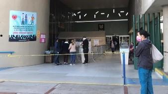 En la Clínica 20, ubicada en la 5 y 10, permanece vigilancia por los elementos de la Policía Federal.