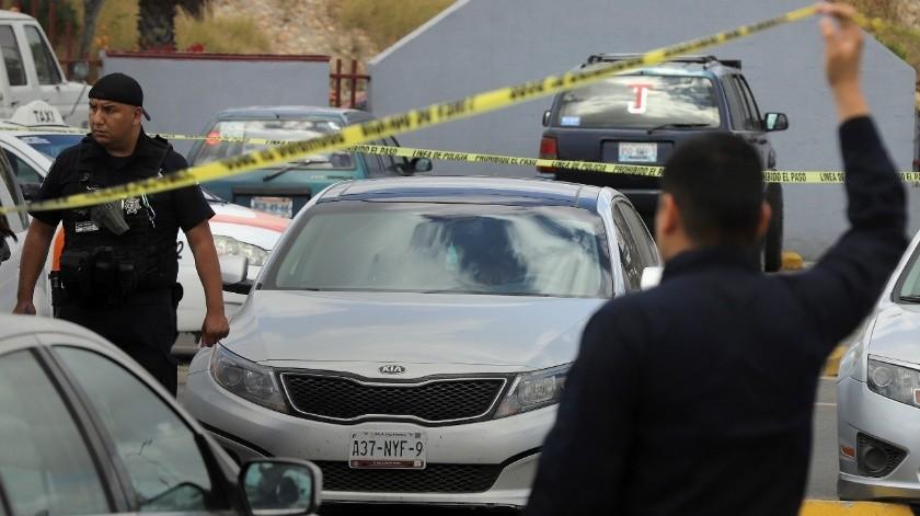 Hasta el momento no se ha informado sobre la detención de alguien relacionado con este crimen de alto impacto.(Sergio Ortiz)