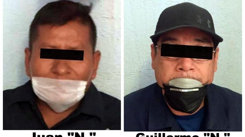 Ambos fueron hallados culpables de exigir dinero a choferes de transporte de carga.