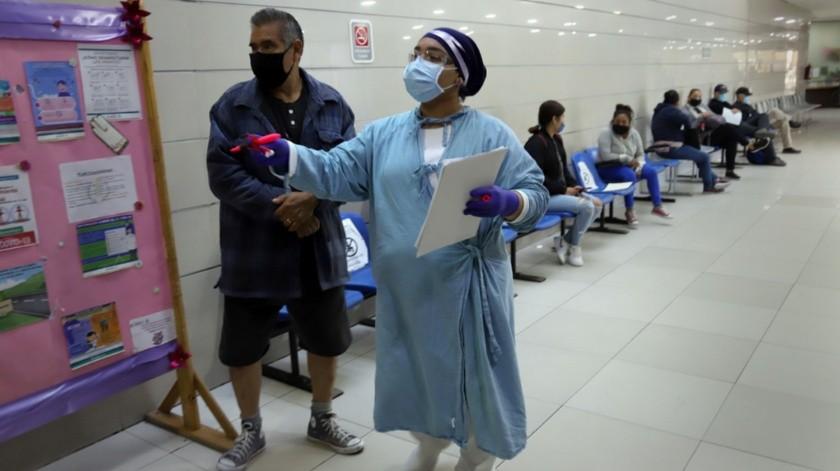 •De acuerdo a personal médico, los pacientes mejoran en su salud tras estos encuentros.(Sergio Ortiz)