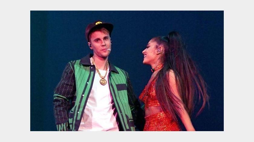 Ariana Grande y Justin Bieber responden acusaciones de Tekashi 6ix9ine(Internet)
