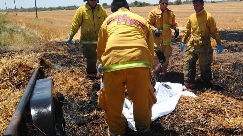 Muere joven electrocutado en carretera Navojoa - Etchojoa(Cortesía)