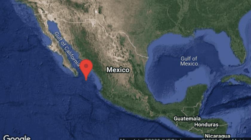 El movimiento telúrico se registró a las 3:46 AM hora del centro de México.(SSN)