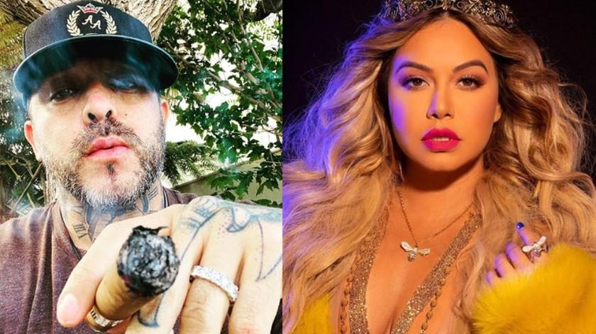 Ángel del Villar saltó a la fama durante el romance de 4 años que mantuvo con la hija de la fallecida Jenni Rivera, Chiquis Rivera.(Agencia México)