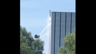 El jueves se produjo un incendio en una central nuclear fuera de servicio en el centro de los Países Bajos.