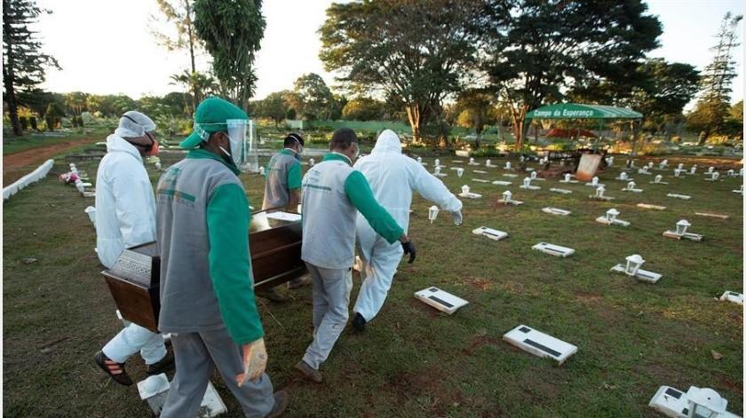 """América del Sur """"se está convirtiendo de cierto modo en el nuevo epicentro"""" de la pandemia de coronavirus(EFE)"""