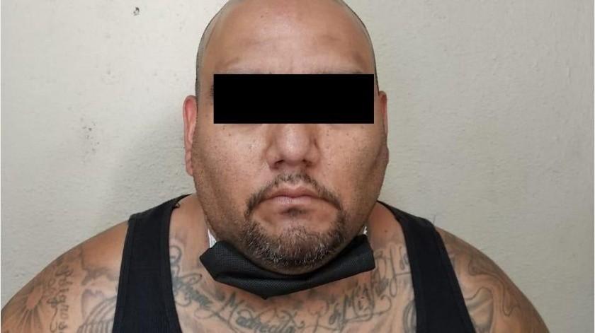 Arrestan en Mexicali a pandillero de EEUU(Cortesía)