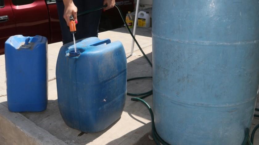 La afectación al suministro de agua fue principalmente en la zona Norte y Noroeste de la ciudad, es decir, el 40% de las colonias.