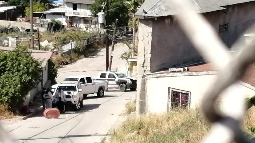 Arrojan cuerpo encobijado en la colonia México Lindo(Margarito Martínez)
