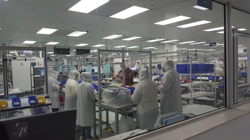 Inspecciona Cofepris empresa ICU Medical en Ensenada(Cortesía)