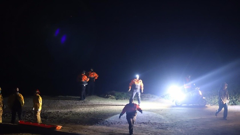Hallan cuerpo de joven ahogado en Playas de Tijuana(Gustavo Suárez)