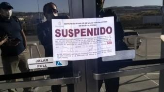 """Suspende Coepris actividades en el parque industrial """"Finsa Alamar"""""""