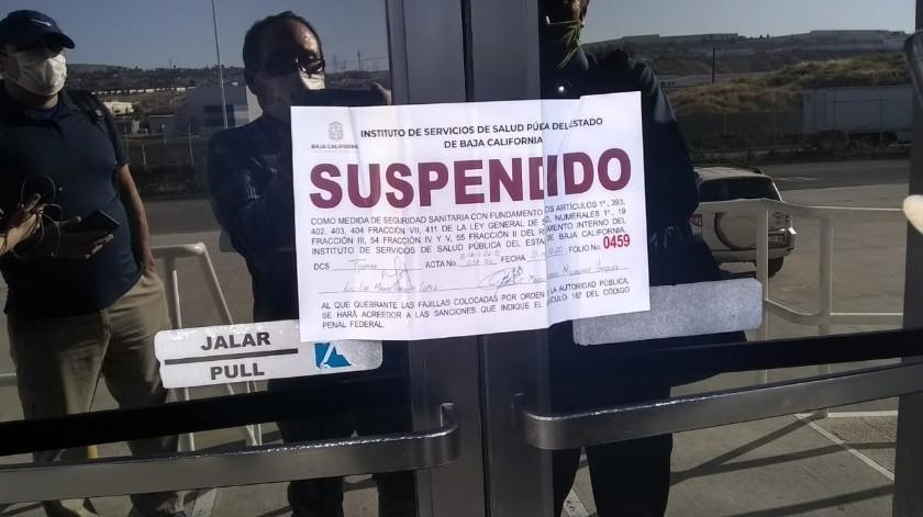 """Suspende Coepris actividades en el parque industrial """"Finsa Alamar""""(Cortesía)"""