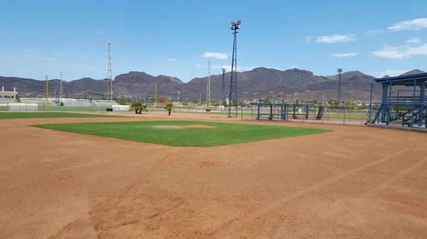 No se pueden utilizar todavía los campos deportivos en Hermosillo: IDJH(Archivo GH)