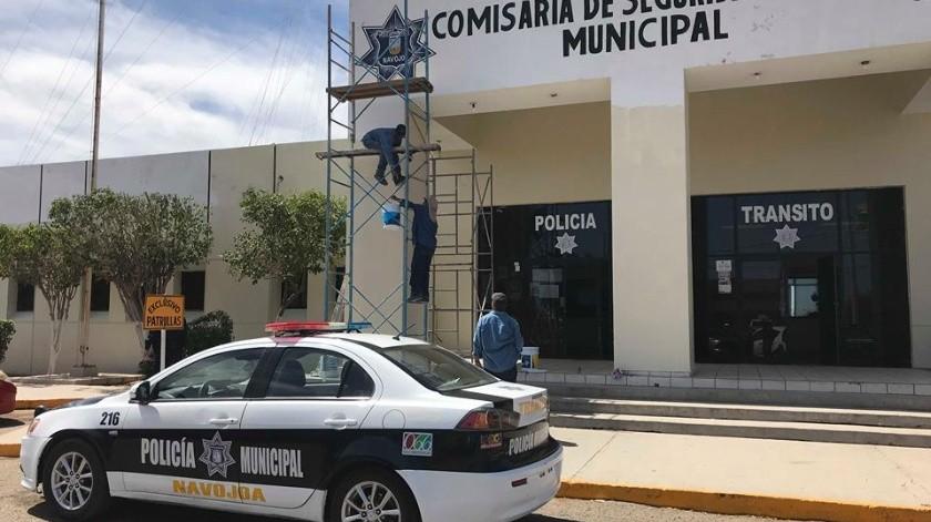 Los policías asignados a la comisaría de San Ignacio fueron aislados.(Archivo)