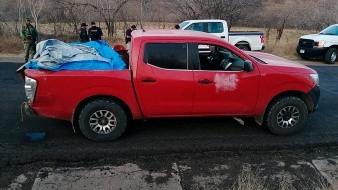 Narcotraficantes dejan doce cuerpos en una camioneta en el occidente de M�xico