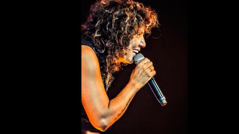 La cantante española Rosana durante un concierto.(EFE)