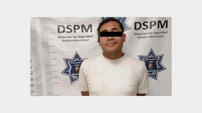 Detenido por robo con violencia a conductor(Cortesía)