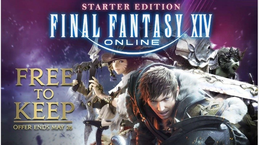 Final Fantasy XIV completamente gratis en PS4