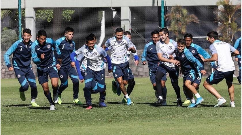 Jugadores del Cruz Azul serán sometidos a pruebas de covid-19(Instagram @cruzazulfc)