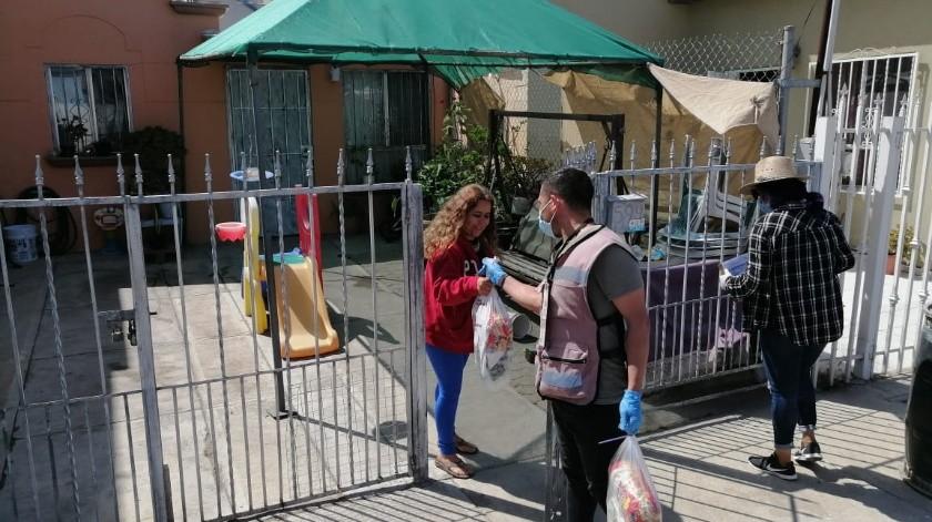 Realizarán recorrido para entregar despensas en Tijuana(Cortesía)