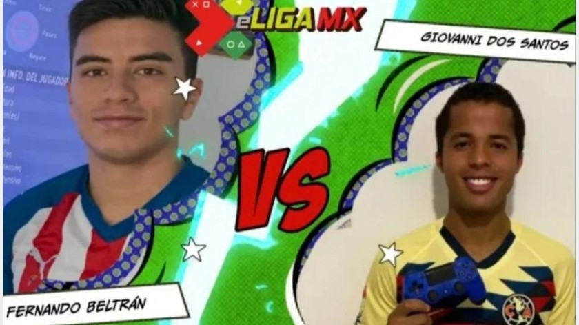 eLigaMX: Giovani dos Santos cae ante Beltrán en Clásico Chivas vs América(Liga MX)