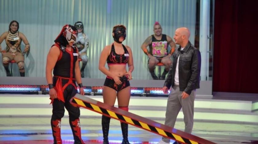 """Luchadores apuestan por sus parejas en """"Mi pareja puede"""""""