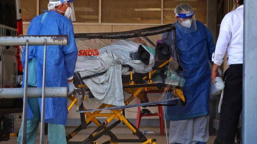Está hospital de Mexicali a su máxima capacidad(Daniel Reséndiz)
