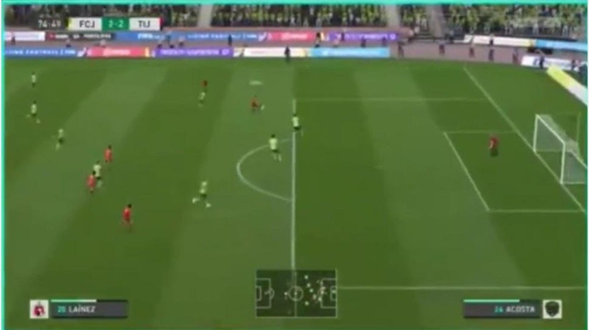 Xolos y FC Juárez empatan en la jornada 13 de la eLiga MX(Captura de pantalla)