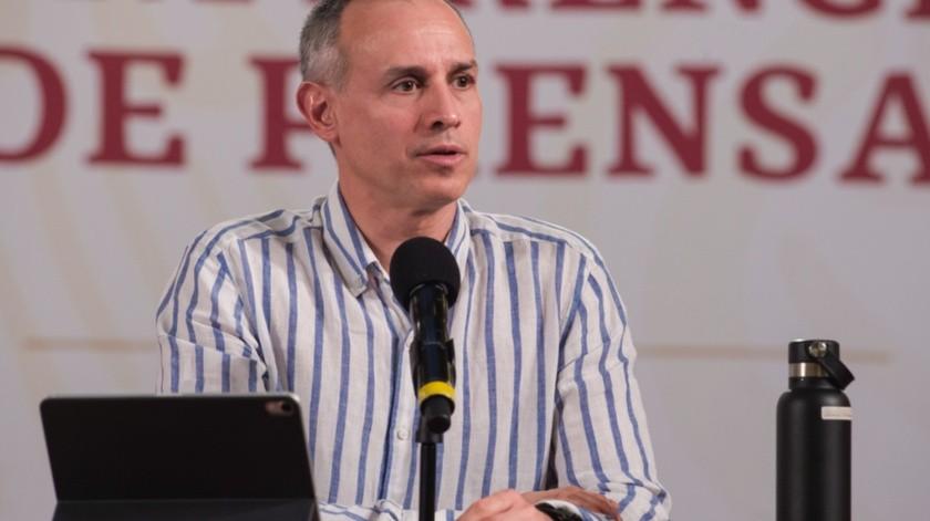 Hugo López-Gatell agradeció la postulación de la Organización Mundial de la Salud (OMS)a colaborar con un grupo de expertos.