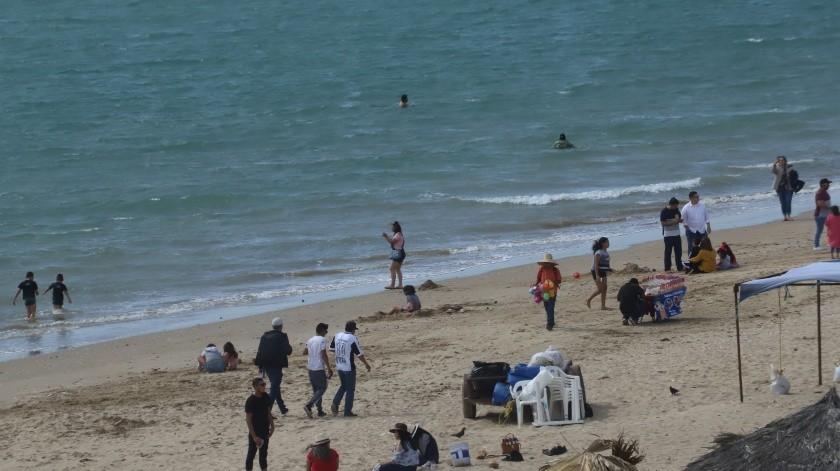 Bahía de Kino registra presencia de visitantes en etapa acelerada de contagio en Sonora(Archivo GH)