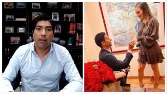 Armando Ayala multa al funcionario que él mismo casó