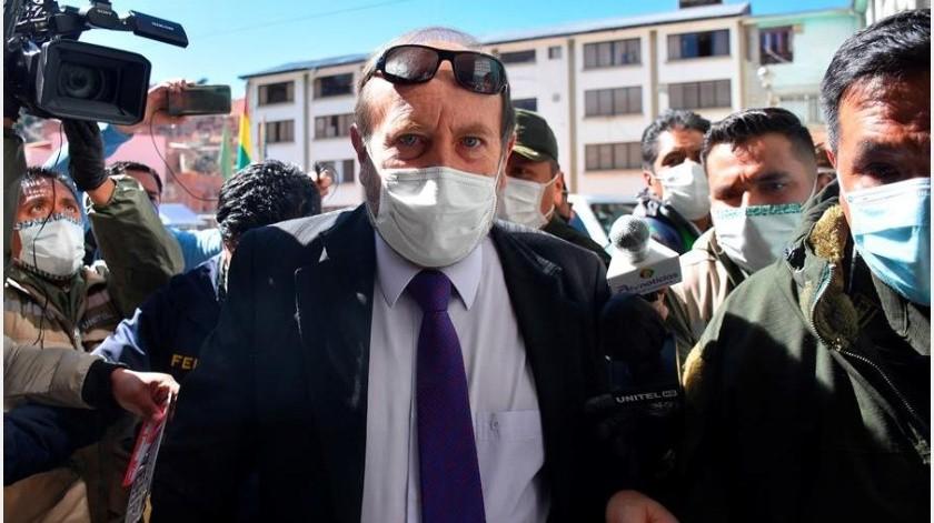 Navajas, de 62 años, fue trasladado de madrugada hora local al hospital Los Andes, en la zona sur de La Paz, luego de sufrir una descompensación por problemas cardíacos.(EFE)