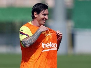 Messi humilla a Ter Stegen y luego etiqueta a Wos