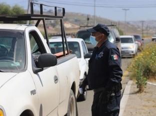 De sábado a lunes se regresaron a más de 200 automovilistas que intentaban ingresar a Rosarito.