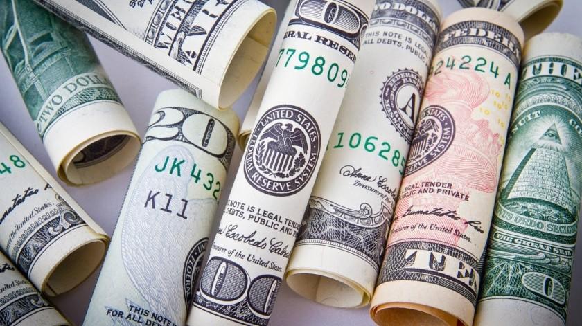 El dólar cerró esta tarde en 22.61 pesos en ventanillas de CitiBanamex, 39 centavos menos que ayer y acumula una disminución de 1.86 unidades a partir de que inició mayo.(Pixabay)