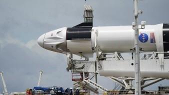 SpaceX listo para lanzar a astronautas de la NASA a estación espacial