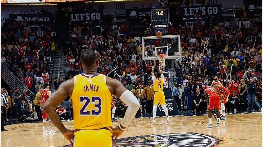 NBA planea trasladar a familiares de jugadores a Orlando, Florida(Instagram @kingjames)