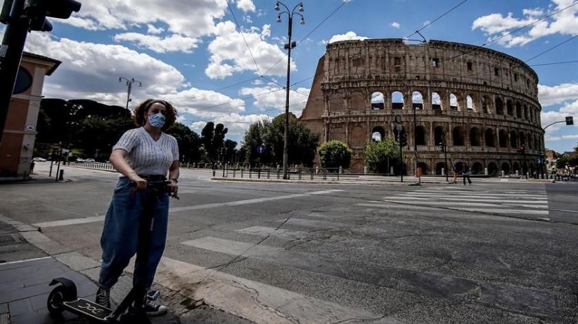 Reporta Italia ligero repunte en nuevos casos de Covid-19(EFE)