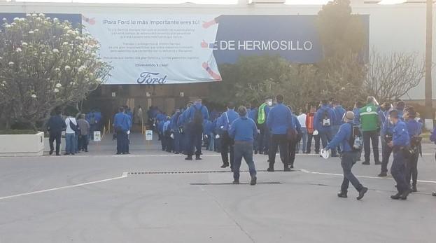 Planta Ford en Hermosillo reanuda producción